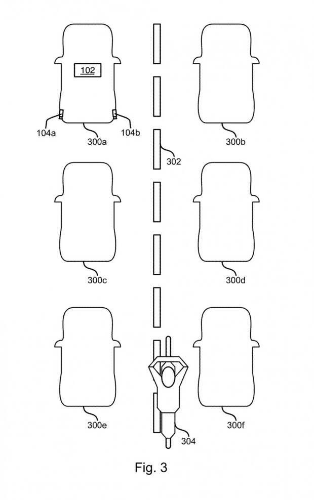 Компания Ford запатентовала систему определения мотоцикла в междурядье