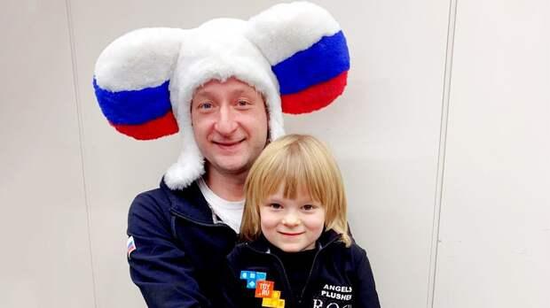 6-летний сын Плющенко иРудковской попал вбольницу из-за травмы натренировке