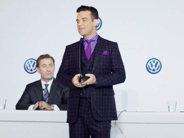 Маркетологом Volkswagen стал певец Робби Уильямс
