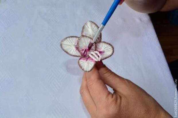 Мастер-класс: орхидея в технике ганутель
