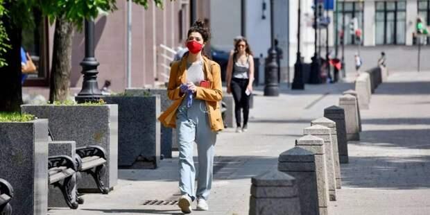 Москвичам напомнили о важности ношения масок в общественных местах / Фото: mos.ru