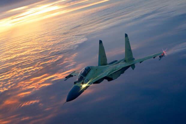 Под Карагандой разбился истребитель Су-30
