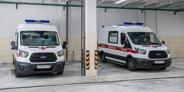 Собянин рассказал о строительстве корпусов скорой помощи в столичных больницах. Фото: М. Мишин mos.ru