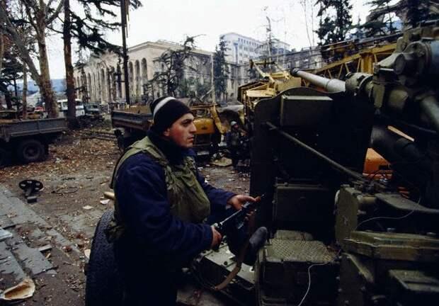 Гражданская война в Грузии