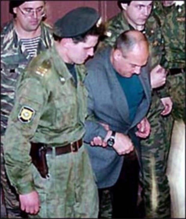 Арест Шутова