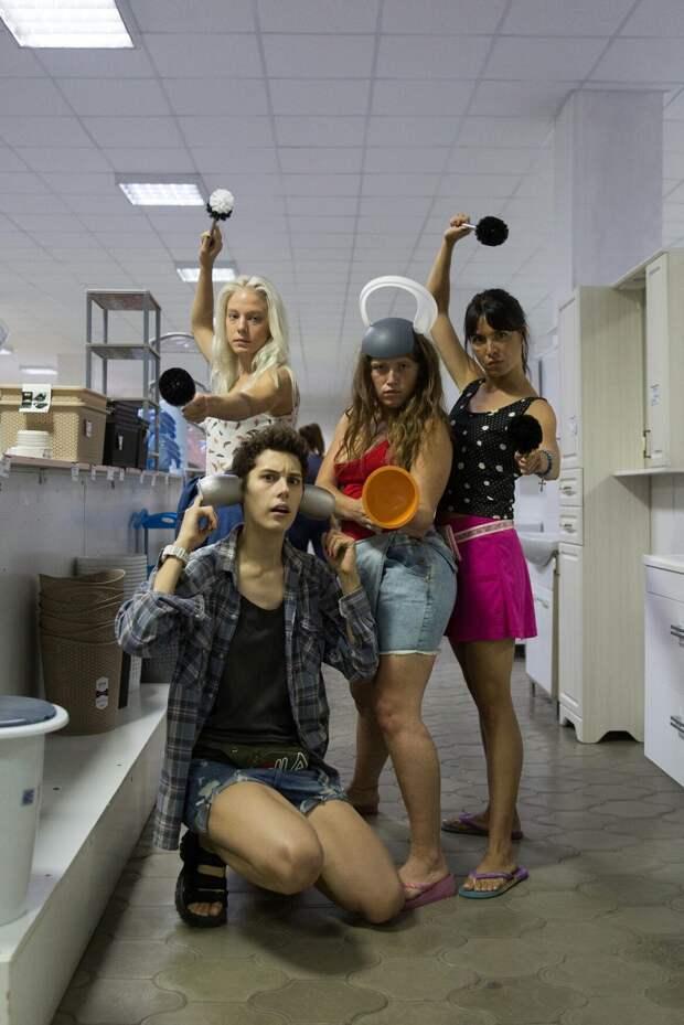 Ирина Горбачёва, Ирина Носова, Алёна Михайлова и Варвара Шмыкова стали «Чиками»