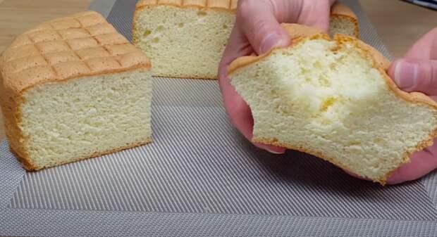 Идеальный бисквит, который никогда не опадает
