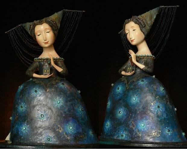Авторские куклы: изумительное творчество Гули Алексеевой