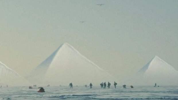 Американские военные отправились к заснеженным пирамидам Антарктиды
