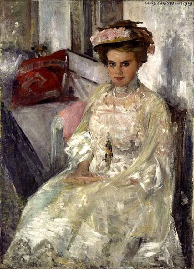 Portrait of Irma Hübner, 1909 - Lovis Corinth