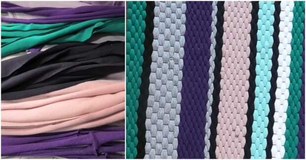 Добротный коврик без шитья и вязания: примитивная техника с вековой историей