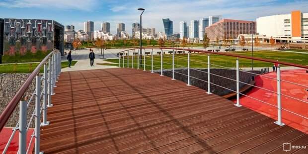 Вход на спортивные площадки в парке «Ходынское поле» стал свободным