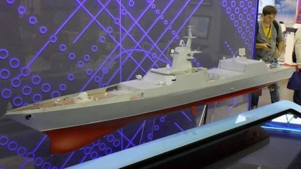 В России создадут фрегат, способный нести 48 крылатых ракет «Циркон»