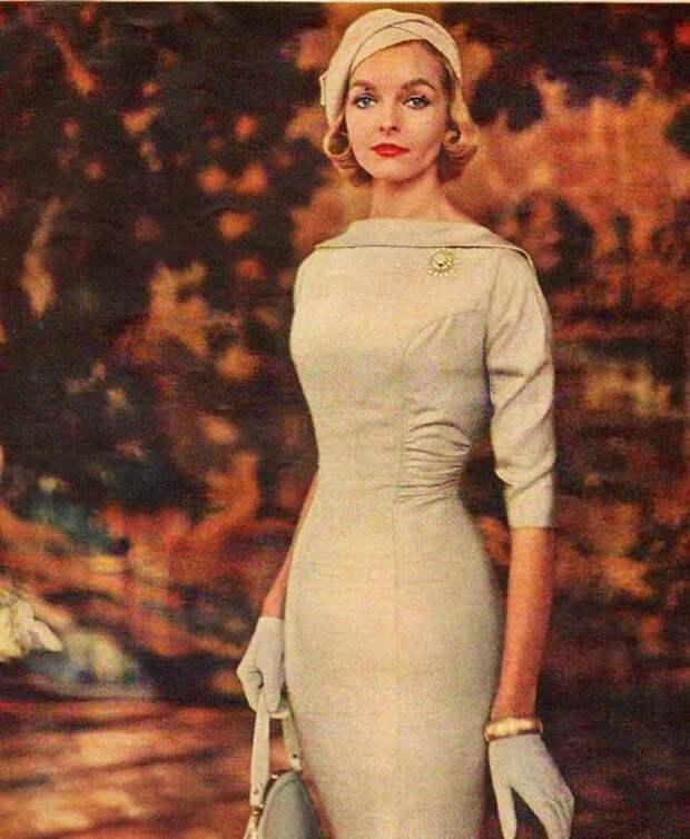 МОДА 1950-х. Просто космические женщины, грация, гармония , прекрасный крой, продуманность образа от и до!
