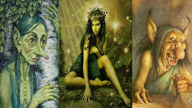 Кикимора. Эволюция образа. Из славянской мифологии до наших дней