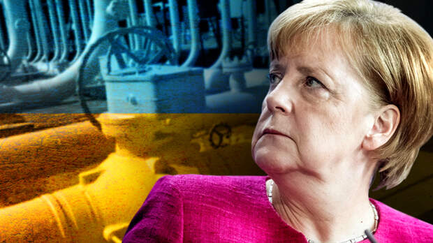 Пытается ли Меркель схватить за язык Путина?