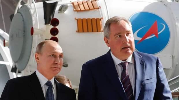Рогозин предложил переименовать космодром «Восточный» в космический старт им. Владимира Путина