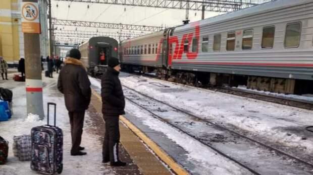 На отдельных участках ЮУЖД возникли сбои вдвижении пассажирских поездов