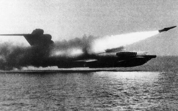 Каспийский монстр: история самого мощного советского экраноплана