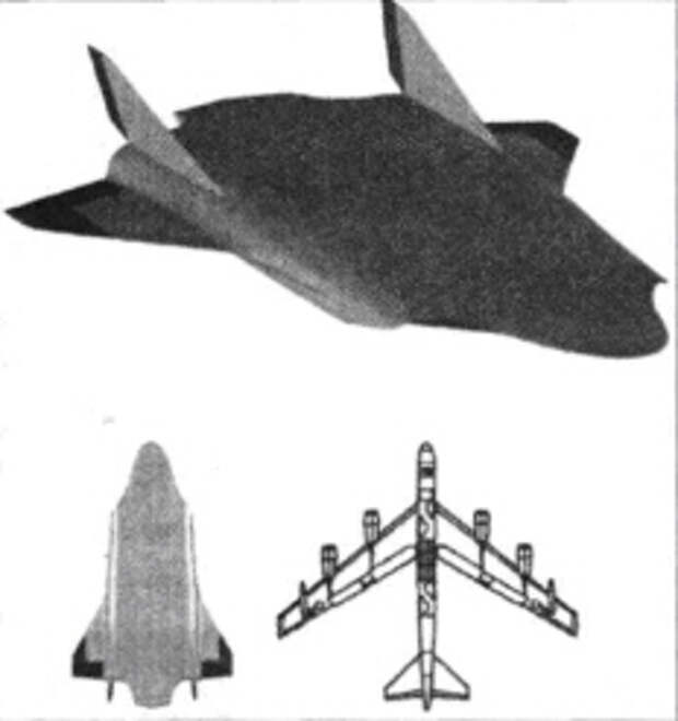 Американский стратегический ударный авиационно-космический комплекс «ФАЛКОН»