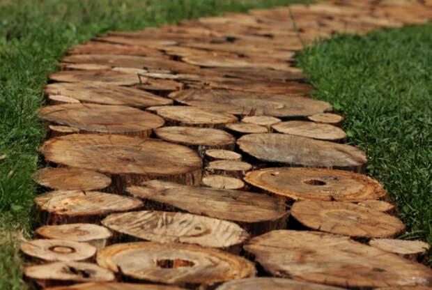 16 практичных и оригинальных способов использования древесины на даче