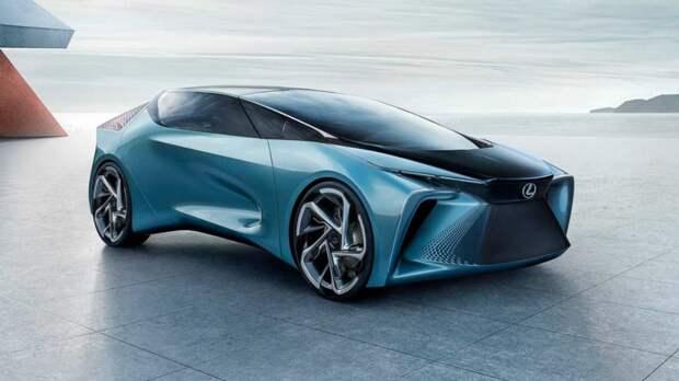 Стала известна дата премьеры первого электрокара Lexus