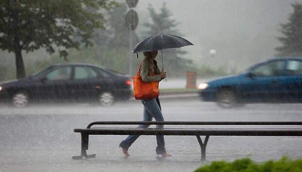 Дождь, гроза и до плюс 20 градусов ожидается в Подольске в пятницу