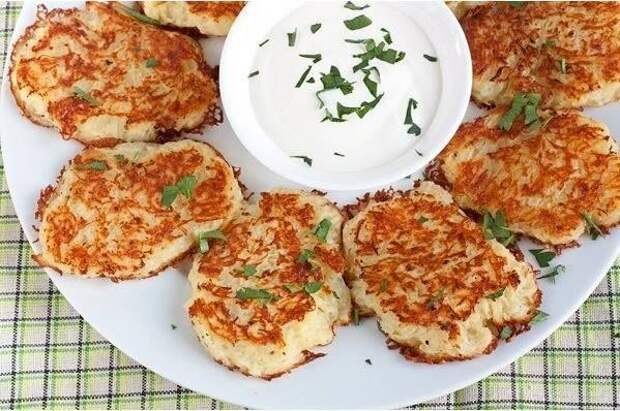 Белорусская кухня - Драники