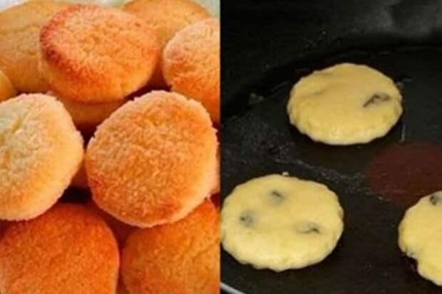 Домашнее печенье на сковороде. Вкусное лакомство без заморочек 6