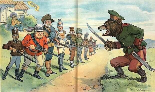 Медведи, балерины и лохматые казаки: почему иностранцы XIX века так изображали русских