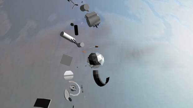 Систему прогноза падения космического мусора на Землю могут создать в России