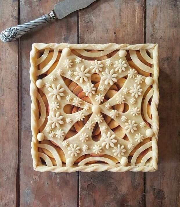 Как красиво оформить пирог 0