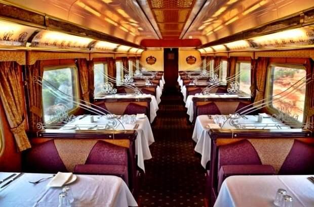Отведать изысканные блюда в поезде смогут не все пассажиры. /Фото: landlopers.com