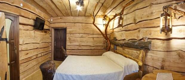 деревянная отделка стен фото