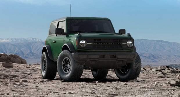Официально объявлено о повышении цен на Ford Bronco в 2022 году