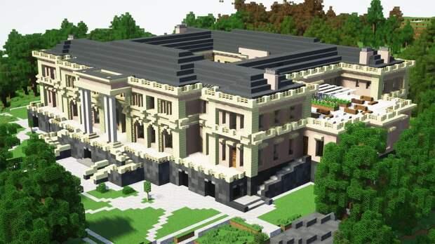«Дворец для Путина» воссоздали в Minecraft