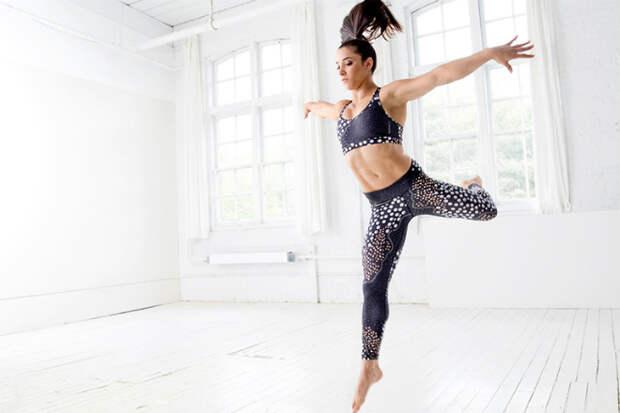 Ошеломляющая собой олимпийская чемпионка показала гимнастику, которая сводит мужчин с ума