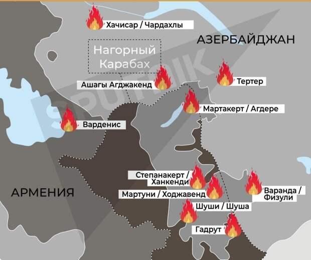 Как Россию «зовут» на Закавказскую войну. Позиция Армении