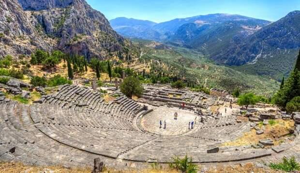 «Мифические» места в Греции