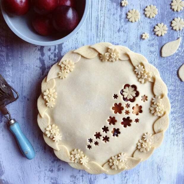 Как красиво оформить пирог 11