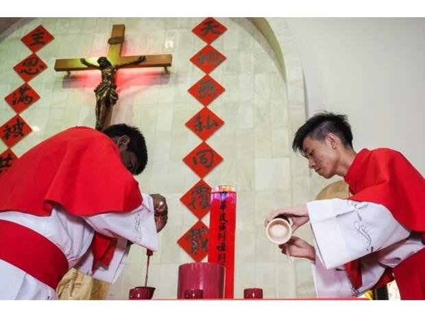 Ватикан меняет Китай уже сегодня