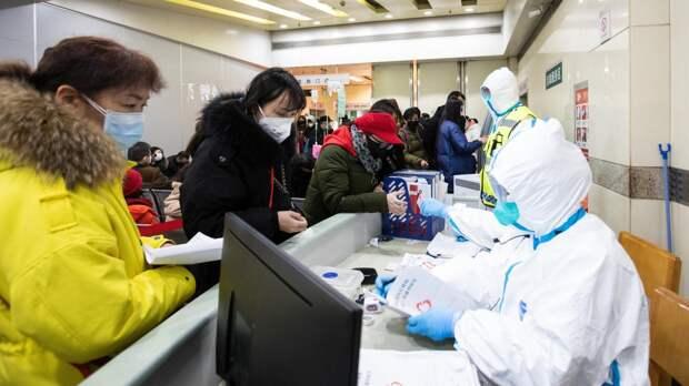 Видео из переполненной из-за коронавируса больницы в Китае появилось в Сети