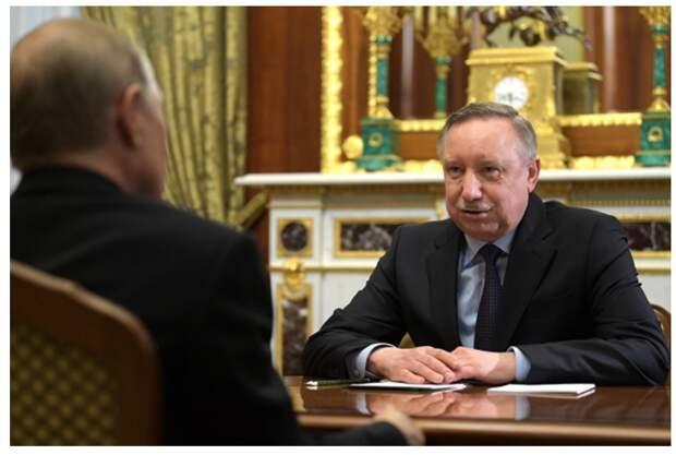 Беглов поручил подготовить предложения по переходу на удаленку