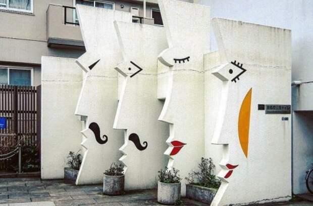 Городские туалеты в Японии