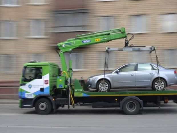 За отказ вернуть автомобиль с эвакуатора предложено штрафовать на 20 тысяч рублей