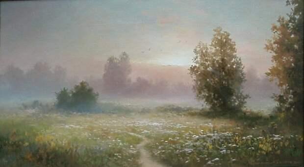 пейзажи Вячеслав Хабиров - 07