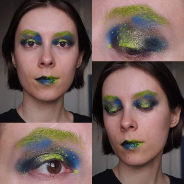 6 необычных фото макияжа, который может обмануть систему распознавания лиц