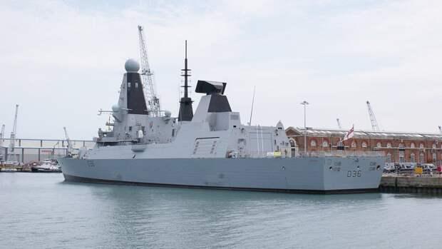 Опубликован маршрут нарушившего границы РФ эсминца ВМС Британии