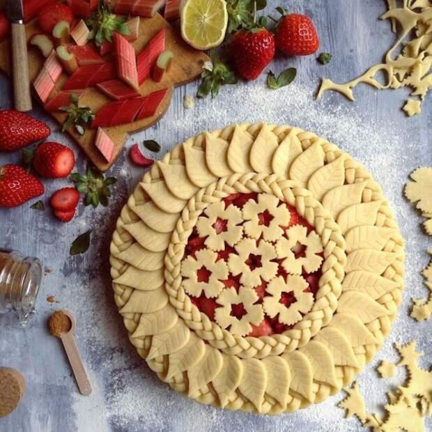 Как красиво оформить пирог 9