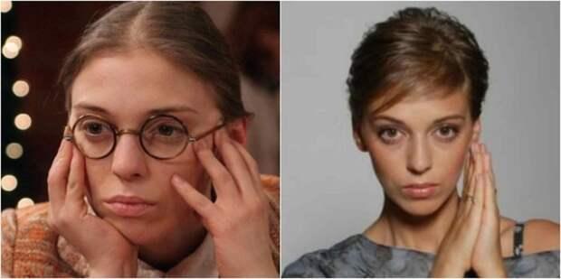 Российская актриса, прежде всего, известна ролью «очаровательной дурнушки» Екатерины Пушкаревой в сериале «Не родись красивой»